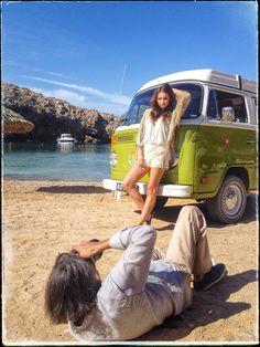 Ibiza photo shoot. Revel.