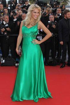 Luisana Lopilato. Cannes Film Festival.