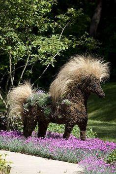Topiary Horse
