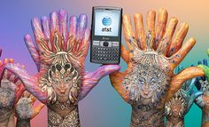 20 Creative Advertisement Photographs from AT&T Mobile - by Andric