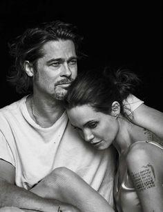Vanity Fair Italia November 11th, 2015: Angelina Jolie & Brad Pitt by Peter Lindbergh