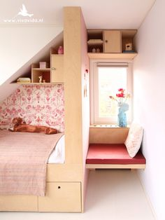 interior design, custom made furniture , styling , decoration Custom Made Furniture, Home Furniture, Attic Bed, Creative Kids Rooms, Condo Decorating, Kid Spaces, Girls Bedroom, Room Inspiration, Room Decor