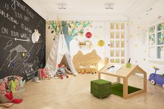 Co-working with kids club on Behance