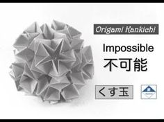 Impossible Kusudama Tutorial - YouTube