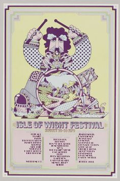 The Isle of Wight Festival. This festival is amazing. Going every year when I move to England!