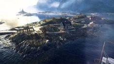The Battlefield V Defying the Odds trailer gets down to business and shows some amazing looking maps to a very eager community. Battlefield Games, Epic Art, Lofoten, Diesel, Maps, Punk, Community, Island, Deco