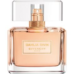 Givenchy Beauty Dahlia Divin EDT - 75 ml found on Polyvore featuring beauty products, fragrance, colorless, fragrances, floral perfumes, pink fragrance, pink flower perfume and givenchy