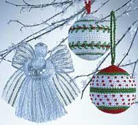 Christmas Ornaments LC1291 | Free Patterns | Yarn