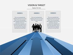 Vision and target PowerPoint slide - Grab this for free from April 18 to 24, 2016