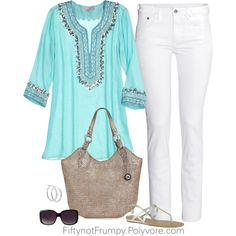 """Trip To The Beach"" by fiftynotfrumpy on Polyvore"