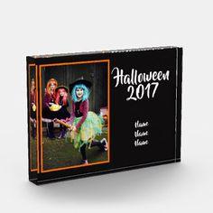 Halloween Photo Keepsake Acrylic - Halloween /Year - Halloween happyhalloween festival party holiday