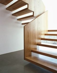 Exterior stairs architecture stairways woods Ideas for 2019 Interior Staircase, Exterior Stairs, Stairs Architecture, Staircase Design, Interior Architecture, Open Stairs, Wood Stairs, House Stairs, Timber Staircase