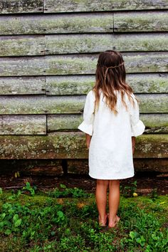 Lace Flower Girl Dress, Rustic Wedding, Fall long sleeve Flower girl Dress ,Winter sizes Newborn -2t, 3t, 4t, 5t, 6, 7, 8, 9/10, 11/12 by plainjanesstore on Etsy