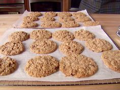 The Oatiest Oatmeal Cookies Ever Recipe : Alton Brown : Food Network - FoodNetwork.com