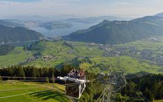 Stanserhorn CabriO, Stans, Switzerland - These Are the World's Coolest Tram Rides | Travel + Leisure