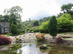 Torosay Castle gardens, Mull.