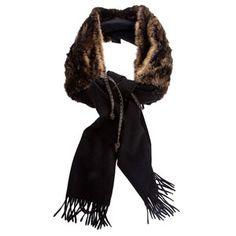 FENDI mink + cashmere stole (30% DISCOUNT - $2600)
