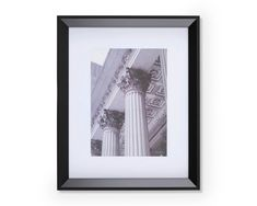 Colonnes, Frame with Architectural Art Print Decoration, Frame, Art, Home Decor, Impressionism, Living Room, Decor, Picture Frame, Art Background