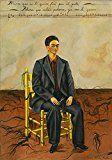 Selbstporträt mit zugeschnitten Haar vonFrida Kahlo (76,2x101,6cm)Kunstdruck auf Leinwand