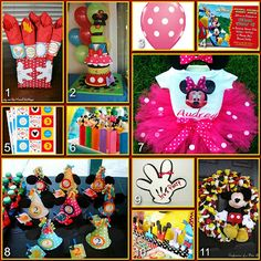 Mickey Mouse Clubhouse Party Board Decor  http://www.disneydonnakay.com/2012/05/disney-party-boards-mickey-mouse.html