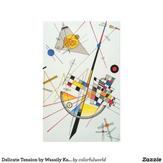 Delicate Tension by Wassily Kandinsky