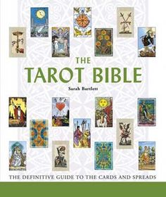 105 best spiritual magical books images on pinterest tarot decks the tarot bible the definitive guide to the cards and spreads by sarah bartlet 1402738382 fandeluxe Gallery