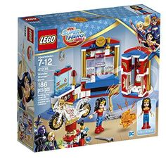 LEGO DC Super Hero Girls Wonder Woman Dorm- This is just ONE of the BEST toys for girls this age. These are the best TOYS and GIFTS for 7 YEAR OLD GIRLS!  These are the coolest presents to buy girls age seven for their birthday or Christmas.  If you want