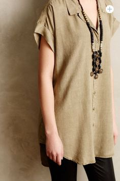 Green tunic: http://www.anthropologie.com/anthro/product/4110259836654.jsp?cm_vc=SEARCH_RESULTS#/