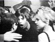 Mick jagger and Eddie Sedgwick New York 1965