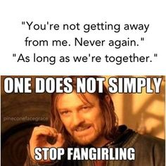 One does not simply stop fangirling. Anyone else notice that Boromir= Sean Bean= Zeus? o_O