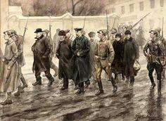Arrested Tsarist's October 1917: Vlaramirova
