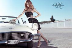Vestido de Cocktail de Carla Ruiz 2012 - Modelo 86046