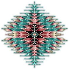 Southwest Native Style Sunburst