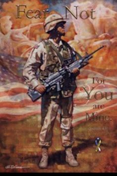 """""""Fear Not """" by Ron DiCianni - Pray for our Military."""