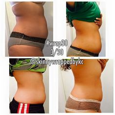 Real people real results!! 2 wraps Our Skinny Wraps are a non woven cloth with a natural botanical plant based lotion on it!  You can put the wrap on ANYWHERE you want from the chin down  and you can start seeing results in as little as 45 minutes!!! The wrap will TIGHTEN TONE FIRM & even REDUCE THE APPEARANCE OF CELLULITE and all you need to do is drink water!!!  BUT wait Once you take the wrap off you will continue to see results over the next 72 hours! AMAZING I know  I'm looking for ONE…