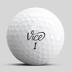 Vice Pro Shooter #Golfbälle. Front.