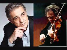 "Placido Domingo & Itzhak Perlman ""None but the lonely heart""  Tchaikowski"