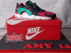 Nike - Cake by kerrycakesnewcastle