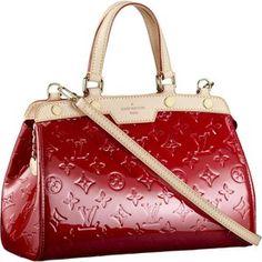 2013 Popular Top Handles Monogram Vernis Louis Vuitton Brea PM Red M91623 Louis  Vuitton Online, d6c0d794b1