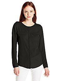 New Dockers Women's Petite Georgette Long-Sleeve Shirt online. Find the perfect Billabong Tops-Tees from top store. Sku IBWQ42636GKOI22903