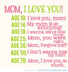 #mom #love #quotes