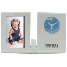 Photoframe and clock Product Size: Branding Type: pad print Material: plastic Gadget Gifts, Printed Materials, Clock, Branding, Frames, Plastic, Type, Watch, Brand Management