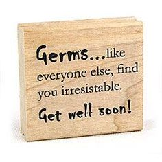 Cute get well card...!--Breakfast in bed for hubby when he's not feeling well--put this tag in is smoothy or something