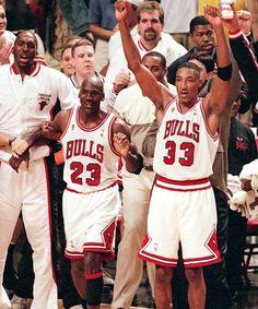 Classic Sports Duos — Michael Jordan, Scottie Pippen