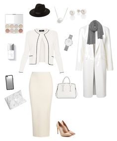 """Без названия #2"" by jiyuk on Polyvore featuring мода, Paule Ka, Yeezy by Kanye West, Alexander Wang, Alexander McQueen, French Connection, Lack of Color, Daniel Wellington, Chan Luu и Couture Colour"