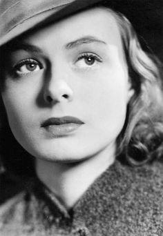 De cerca, Ingrid Bergman.
