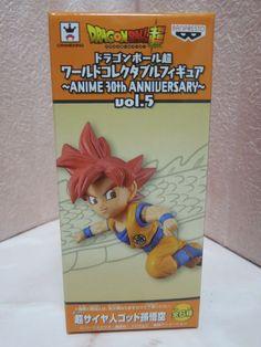 New Dragon Ball Super DWC Vol.5 ANIME 30th ANNIVERSARY God Son Gokou Figure