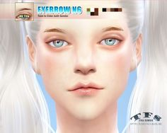 Sims 4 CC's - The Best: Eyebrow by Tifa Sims