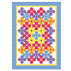 FREE PATTERN: Summer Posies (from The Quilter Magazine)