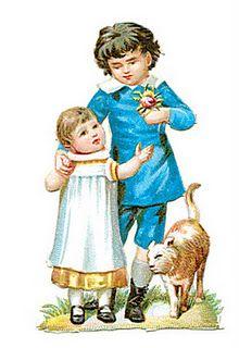 Victorian Children graphic